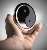 Yin Yang - harmonie Photo stock