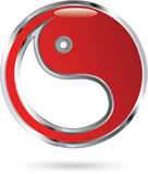Yin Yang icon Stock Images
