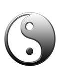 Yin and Yang II. Yin represents, dark, female & negative Yang represents, light, male & positive stock illustration