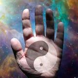 Yin Yang istota ludzka Fotografia Royalty Free