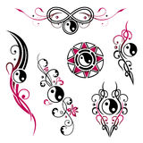 Yin yang jewelry Royalty Free Stock Images