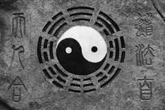 Yin-Yang. Meditation. Stock Photography