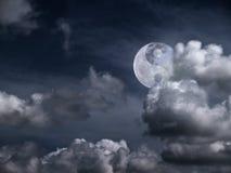 Yin Yang Moon Stock Photography