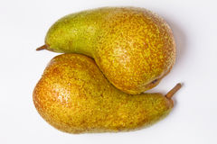 Yin yang pears Royalty Free Stock Photography