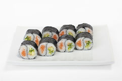 Yin Yang Roll Royalty Free Stock Photo