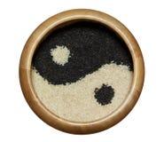 Yin Yang Sesame Imagens de Stock