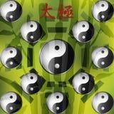 Yin Yang sighn Fotografia Royalty Free