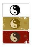 Yin and Yang sign Stock Image