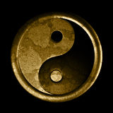 Yin and yang sign Stock Photography