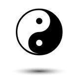Yin yang sign harmony Stock Photography