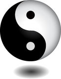 Yin yang sphere Royalty Free Stock Photo