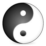 Yin-yang symbol Stock Photos