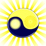 Yin and Yang symbol Stock Photo