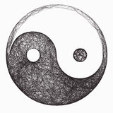 Yin Yang Symbol Lizenzfreies Stockbild