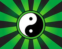 Yin-yang symbol Royalty Free Stock Photography