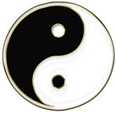 Yin and Yang symbol Stock Images