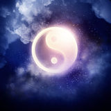 Yin Yang Symbol Lizenzfreies Stockfoto
