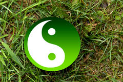 Yin-Yang Symbol Images libres de droits