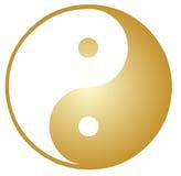 Yin Yang symbol. Oriental representation of duality Royalty Free Stock Images