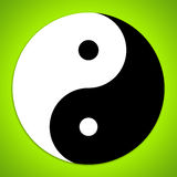 Yin and Yang symbol Royalty Free Stock Photo