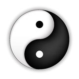 Yin Yang symbol Royalty Free Stock Photography