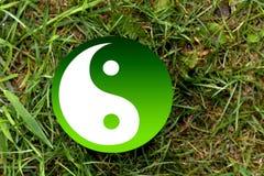 The Yin-Yang Symbol . Royalty Free Stock Images
