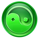 Yin yang symbol icon Royalty Free Stock Image