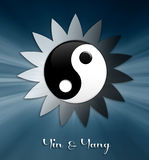 Yin and Yang symbol Royalty Free Stock Images