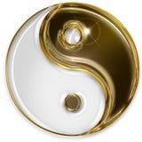 Yin yang symbol stock illustration