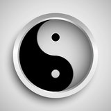 Yin and yang symbol Stock Image