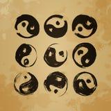 Yin yang Stock Photos