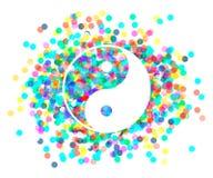 Yin Yang symbol. Vector. Stock Images