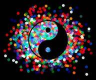 Yin Yang symbol. Vector Royalty Free Stock Image