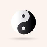 Yin and Yang symbol Stock Images