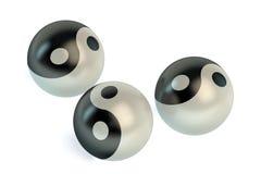 Yin Yang symbols Stock Photos