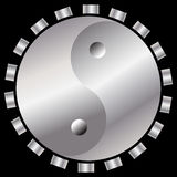 Yin-yang Technology Royalty Free Stock Photography