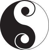 Yin YangTattoo Stock Images