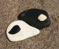 Yin -yin-yang Stock Afbeelding
