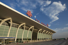 Yinchua flygplats royaltyfri fotografi