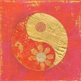Ying ed illustrazione del yang illustrazione vettoriale