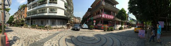 Ying Ge Ceramics Street, Taipei, Taiwán 01 foto de archivo libre de regalías