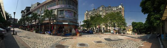 Ying Ge Ceramics Street, Taipei, Taiwán 03 fotos de archivo
