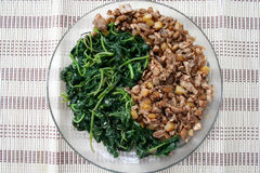 ying Yang żywności Obraz Stock