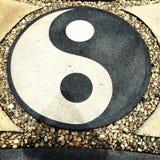 ying yang Obraz Stock