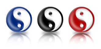 Ying Yang Stock Photos