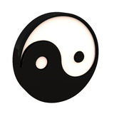 Ying yang Stock Photo
