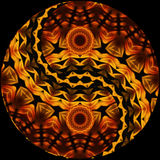 Ying Yang colorida Imagem de Stock Royalty Free