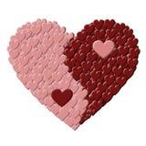 Ying-Yang Heart Stock Photo