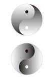 ying Yang kuli Zdjęcie Stock