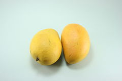 ying Yang mango Zdjęcie Royalty Free